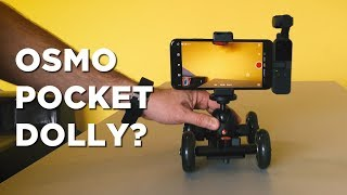 Turn the Osmo Pocket Into a DOLLY (and more!)