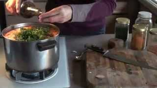 Vegetarian Barley Soup With Beta Glucans And Immune System Herbs