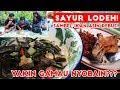 Sayur Lodeh + Ikan Asin Rebus Balado + Jamur Tepung + Sambel Goang!!