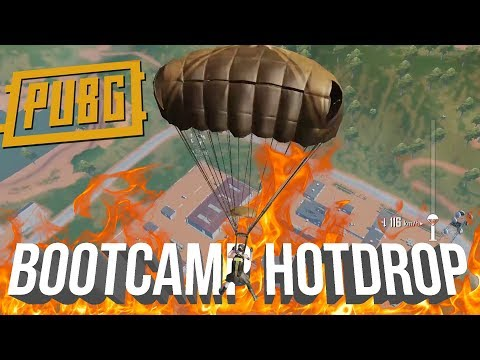 BOOTCAMP HOTDROP IN SANHOK | PUBG MOBILE HIGHLIGHTS