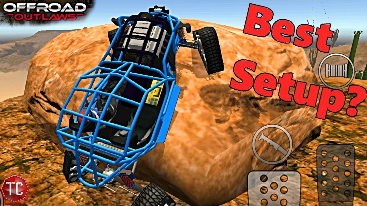 Off-Road Outlaws: BEST Crawler Setup? Maxed Out Rock Bouncer w/ Tracks + 4  Wheel Steer!