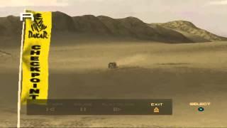 Toyota Hilux - Sahara racing in Dakar 2 video game