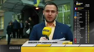 Выборы главы Федерации футбола Киева завершились скандалом