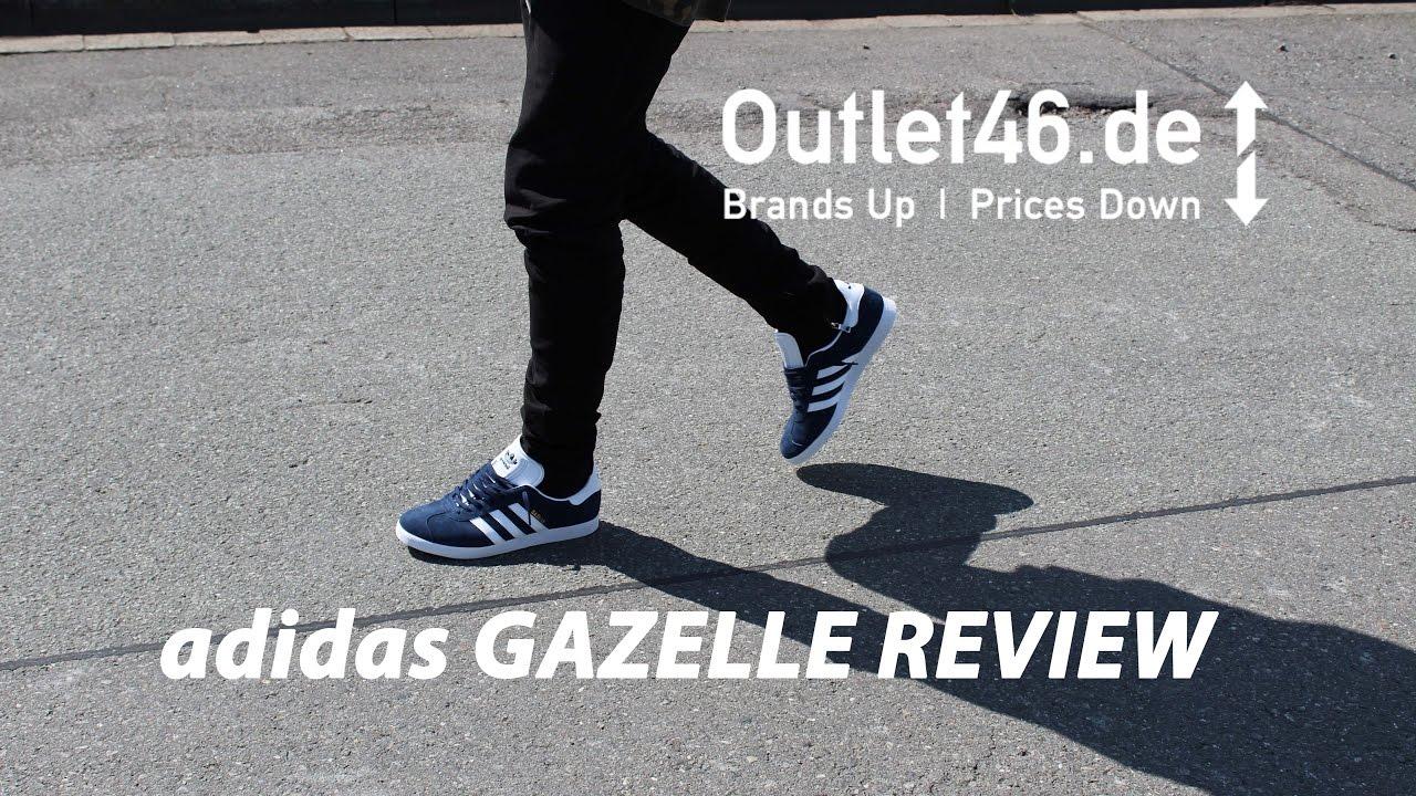 Adidas Gazzella Revisione Kanye West E 'Classico Deutsch L Revisione Gazzella L A Piedi. 71d8be