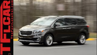 2015 KIA Sedona Review: The Unminivan for those who need but don