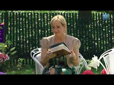 "J.K. Rowling Reads from ""Harry Potter and the Sorcerer's Stone"""