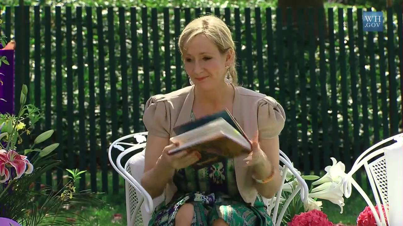 """Download J.K. Rowling Reads from """"Harry Potter and the Sorcerer's Stone"""""""