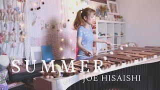 菊次郎の夏 Summer by Joe Hisaishi 久石讓[Marimba木琴Cover]