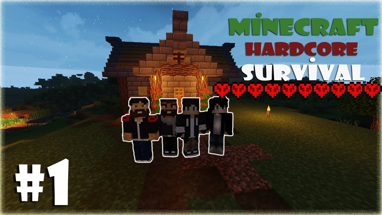 Minecraft: BAŞARIM SURVIVAL  (1.16.5) Bölüm 4