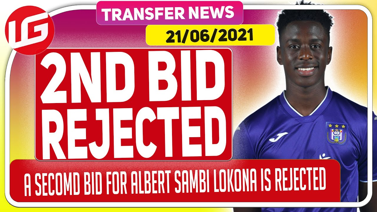 ARSENAL'S SECOND BID FOR ALBERT SAMBI LOKONGA IS REJECTED