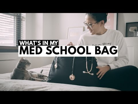 what's in my bag: MED SCHOOL EDITION (4th year)