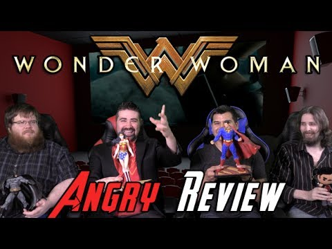 Wonder Woman Angry Movie Review - Youtube