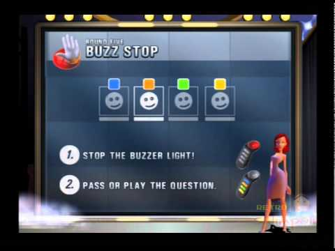 Buzz! The Big Music Quiz PS2 Multiplayer Gameplay (SCEE) Playstation 2