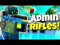 I FOUND TOO MANY ADMIN RIFLES! - Modded Unturned #97