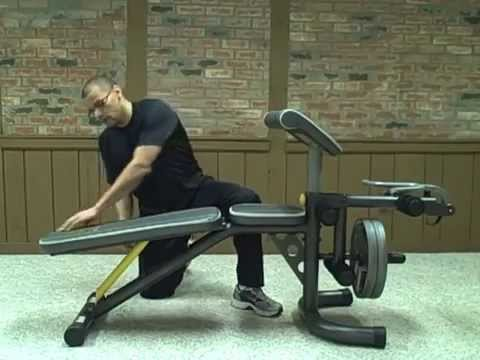 Gold S Gym Xrs 20 Olympic Bench Youtube