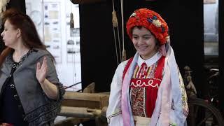 Урок в Амурском музее по истории костюма