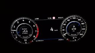 0-100 VW Tiguan 2 Beschleunigung 2.0 TSI 4-Motion 220 PS (162kW) DS...