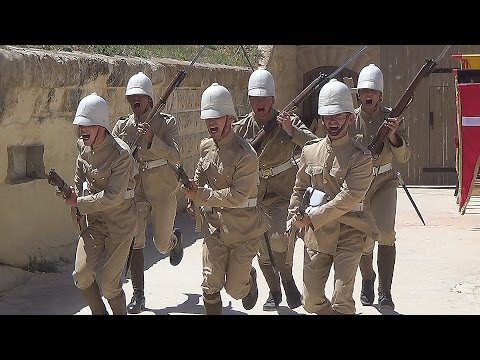 British infantry drill - Victorian style
