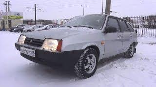 2003 ВАЗ-21093i. Обзор (интерьер, экстерьер, двигатель).