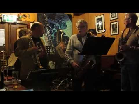 The Grove Monday Jam 003 On Broadway Thomas Halsall Tenor Saxophone 08 .04. 2013