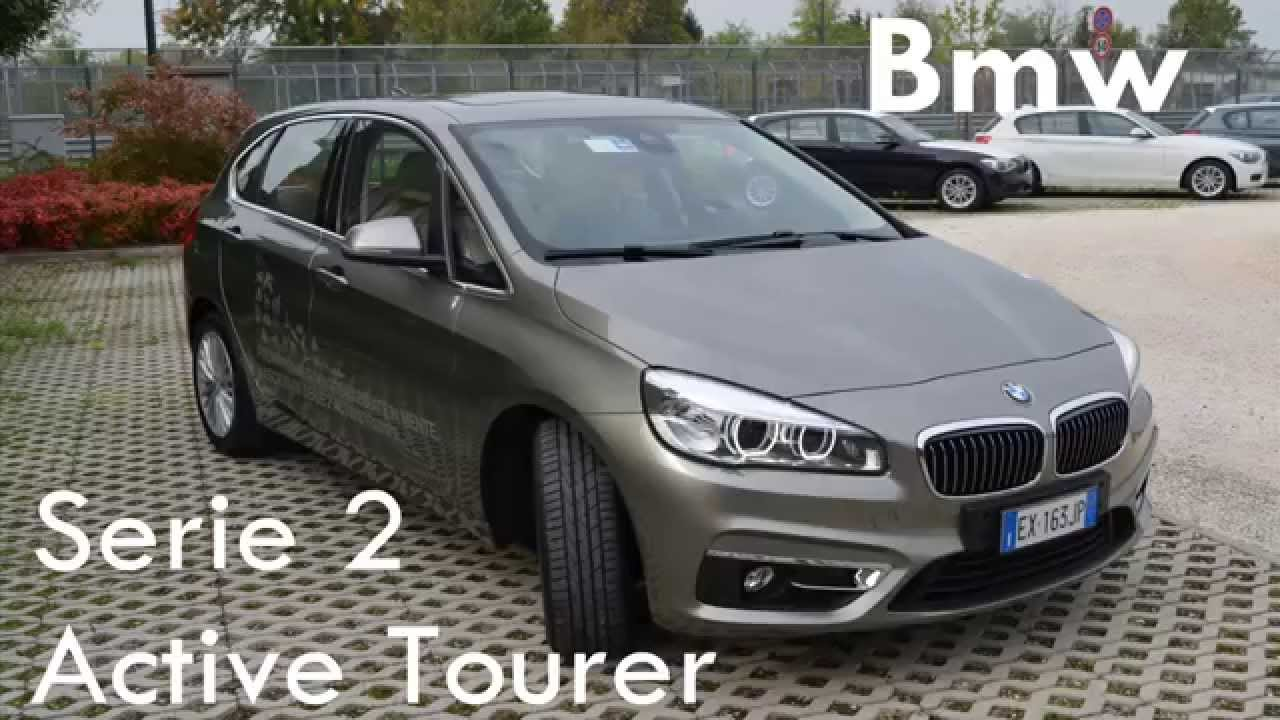 test drive 2015 bmw 218d active tourer prova su strada. Black Bedroom Furniture Sets. Home Design Ideas