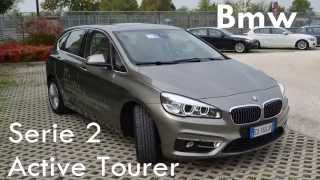 Test drive 2015 Bmw 218d Active Tourer - Prova su strada nuova Bmw Serie 2 Active Tourer
