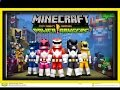 Mighty Morphin Power Rangers Minecraft Skin Pack Preview!