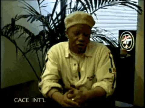 Salif Keita interview (part 1) on CACE INT'L TV