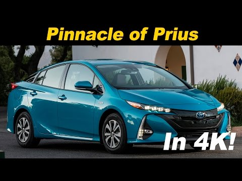 2017 Toyota Prius Prime (Plug In Hybrid) First Drive Review - In 4K UHD!