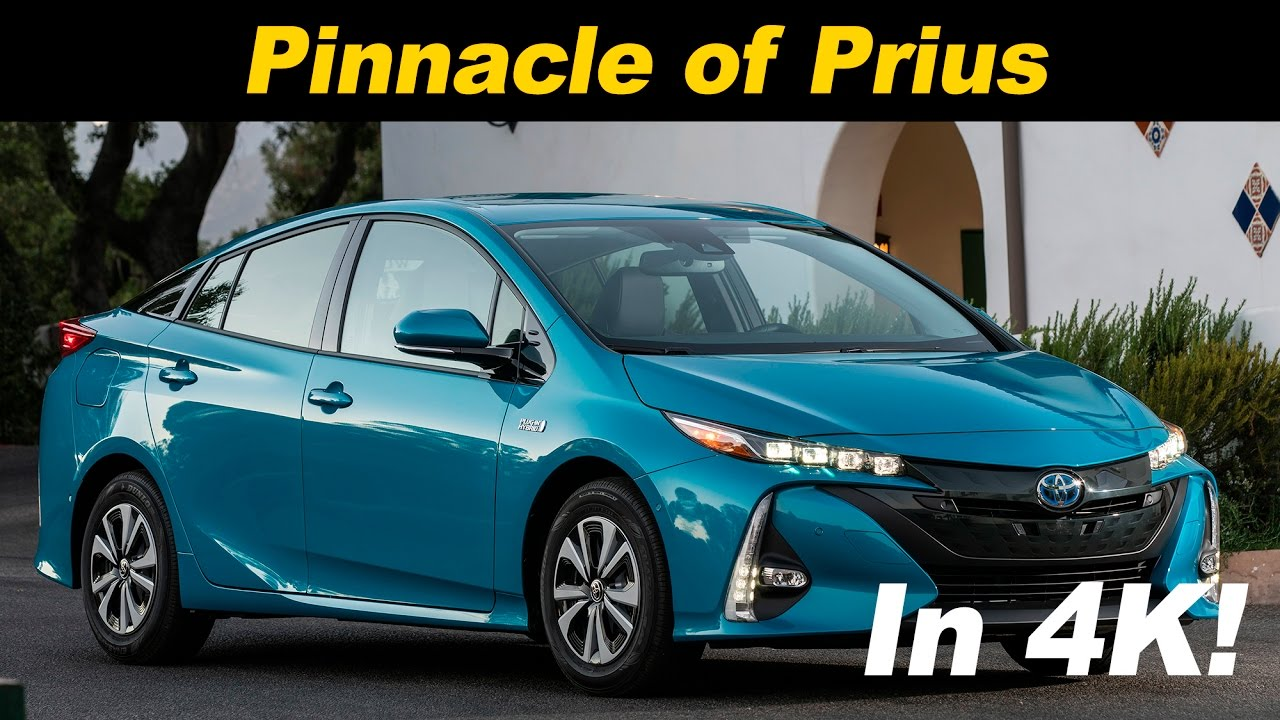 2017 Toyota Prius Prime Plug In Hybrid First Drive Review 4k Uhd