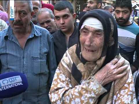 LBCI News - Old Woman Suffering in Tripoli