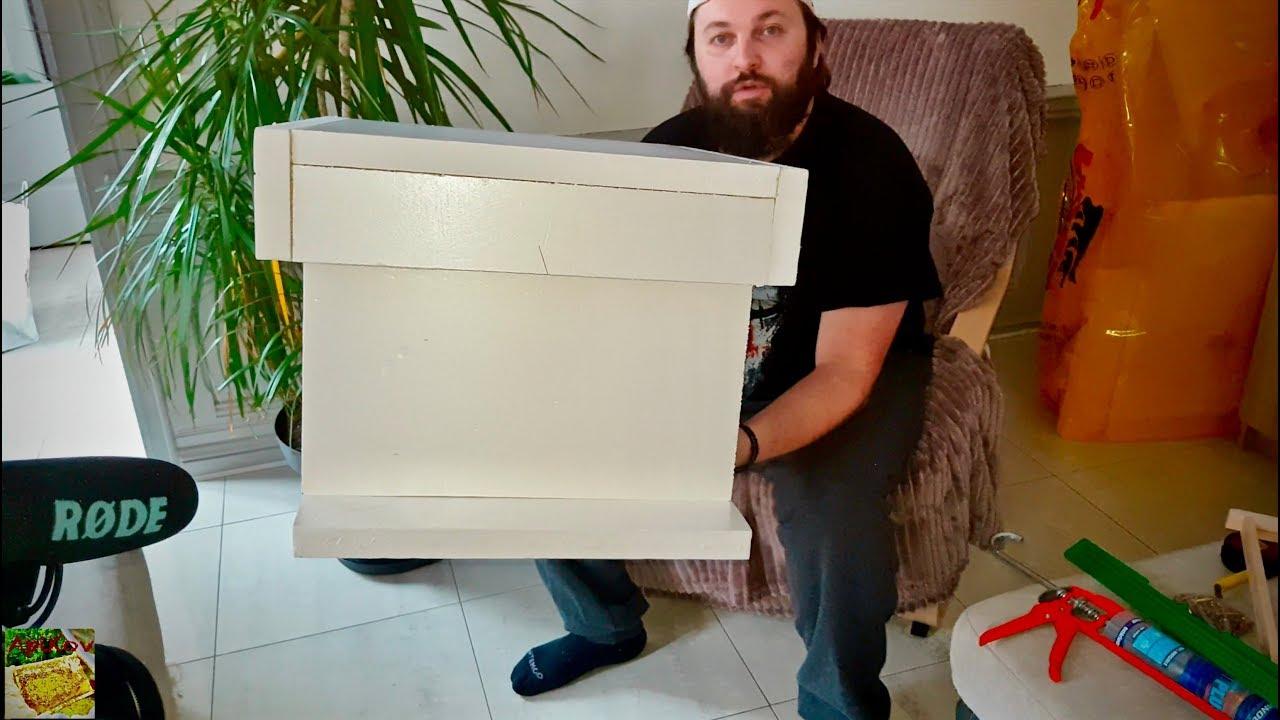 comment fabriquer une ruche 10 cadres en polystyr ne how to build a hive youtube. Black Bedroom Furniture Sets. Home Design Ideas