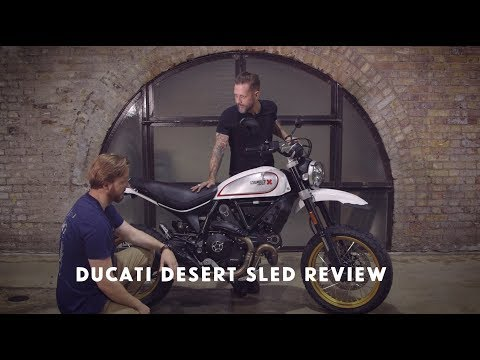 Ducati Desert Sled Scrambler Review