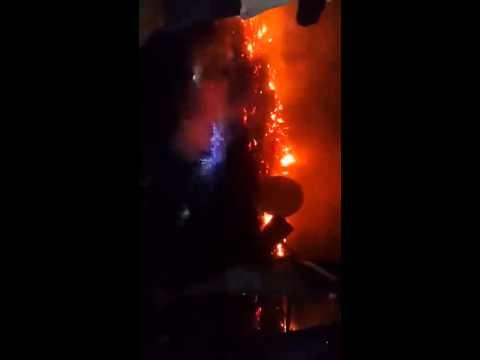 Incendie ce soir au quartier Nzeng Ayong dans le 6eme arrondissement de libre    1