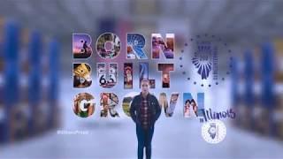 Illinois Bicentennial: BORN BUILT GROWN #IllinoisProud