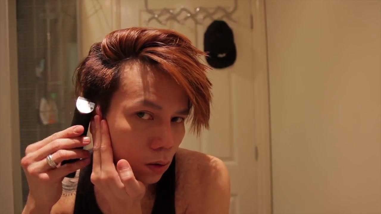 Clippercut Your Own Hair Mens Hairstyle Korean Style 2016 Youtube