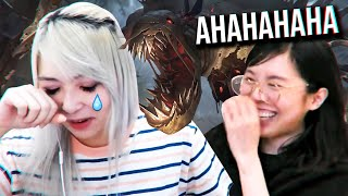 when all your teammates trolling in LoL ft. Lilypichu, Breezyyy & friends