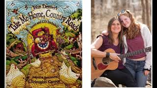 Country Roads - Kids Sing along, Read Along, LISTEN & LEARN WITH LIZZIE.  John Denver cover.