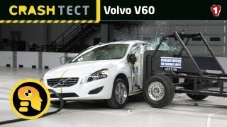 Volvo V60. Краш тест. УКР