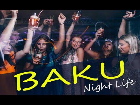 BAKU City Street Tour    Nightlife Street    Azerbaijan   Travel vlog   funzomania