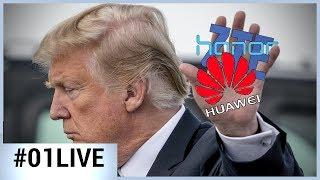 Coup de pression des Etats-Unis contre les smartphones chinois - 01LIVE HEBDO #182