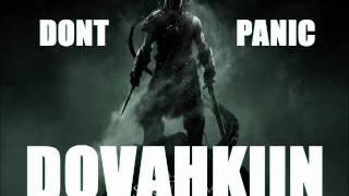 Don't Panic - Dovahkiin (Skyrim Theme Dubstep Remix)
