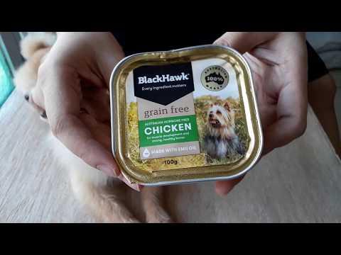 BLACKHAWK GRAIN FREE CHICKEN TRAY