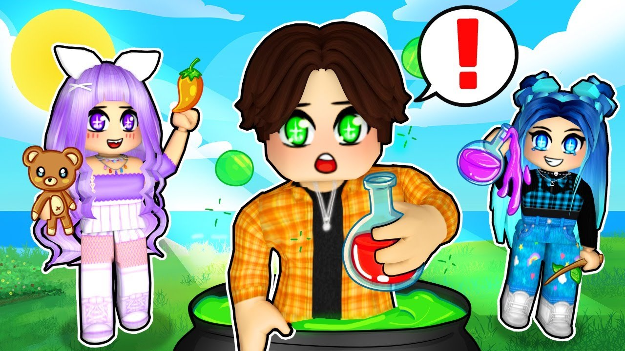 Creating MYSTERY Potions in Roblox Wacky Wizards!