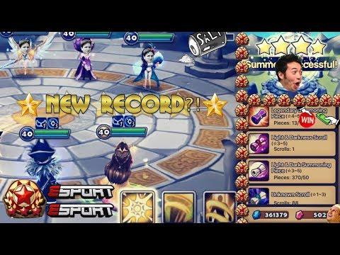NEW RECORD?! | Arena Rush Hour + 8 LIGHT/DARK Scrolls!