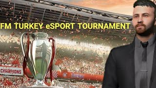 FM TURKEY eSPORT TURNUVASI A GRUBU 5 MAÇ OLYMPIQUE LYON FOOTBALL MANAGER 2021