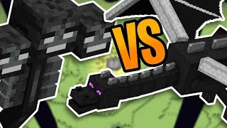 Fighting The Wither And Ender Dragon At The Same Time In Minecraft Survival (#22)