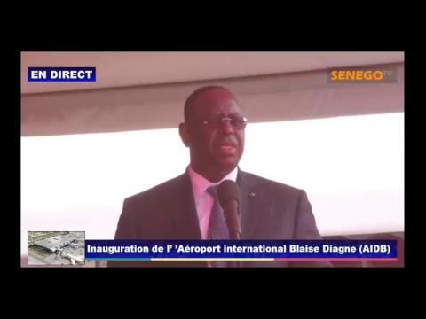 Download Youtube: Inauguration de l'Aéroport International Blaise Diagne (AIBD)