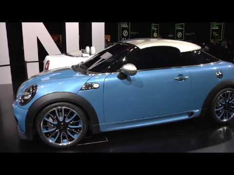 Mini Coupe Concept 2009 Frankfurt Auto Show Iaa Youtube