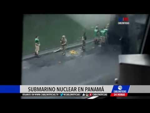 Submarino nuclear de Estados Unidos cruzó el Canal de Panamá